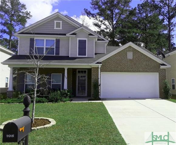 108 Spoonbill Circle, Savannah, GA 31405 (MLS #185701) :: The Arlow Real Estate Group