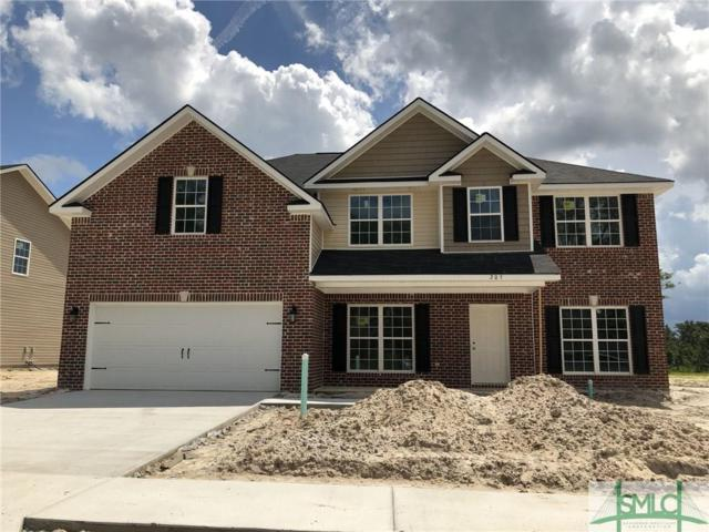 205 Telfair Crossing, Hinesville, GA 31313 (MLS #188925) :: The Arlow Real Estate Group