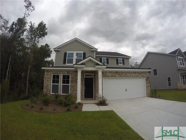 258 Harmony Boulevard, Pooler, GA 31322 (MLS #189336) :: Coastal Savannah Homes