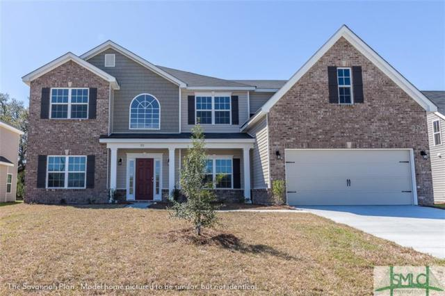 34 Teal Lake Drive, Savannah, GA 31419 (MLS #193409) :: Coastal Savannah Homes