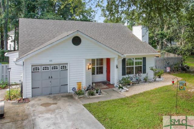 115 W White Hawthorn Drive, Savannah, GA 31419 (MLS #193611) :: The Arlow Real Estate Group