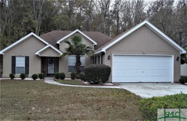 107 Dovetail Crossing, Savannah, GA 31419 (MLS #194146) :: The Arlow Real Estate Group