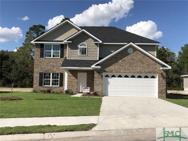 723 Waterlilly Court, Hinesville, GA 31313 (MLS #195065) :: Coastal Savannah Homes