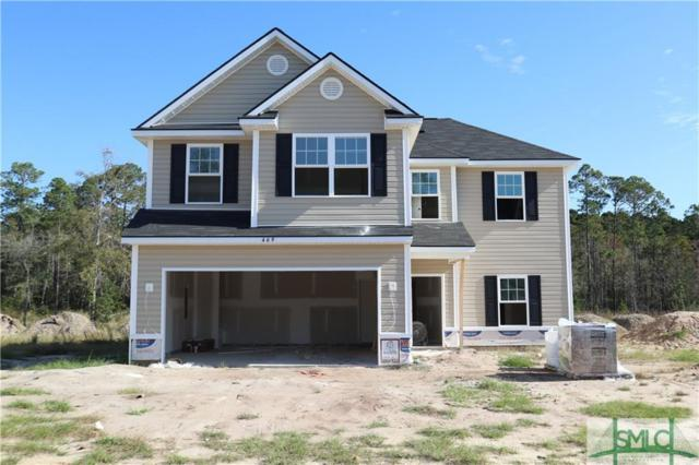 469 NE Archie Way, Ludowici, GA 31316 (MLS #196715) :: Coastal Savannah Homes