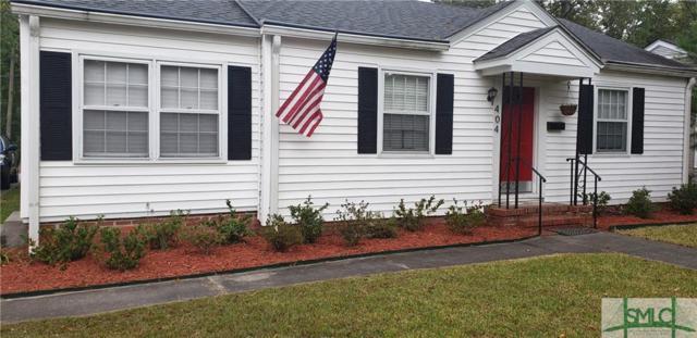 404 Columbus Drive, Savannah, GA 31405 (MLS #198135) :: The Randy Bocook Real Estate Team