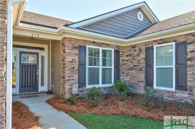 210 Brickhill Circle, Savannah, GA 31407 (MLS #198331) :: The Randy Bocook Real Estate Team