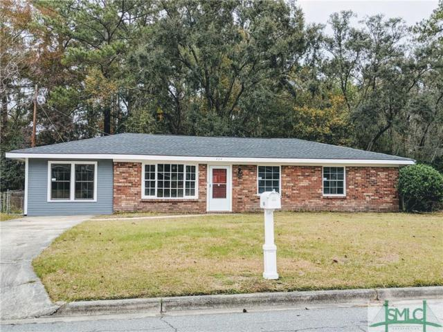 424 Woodcliff Drive, Savannah, GA 31406 (MLS #200540) :: Coastal Savannah Homes