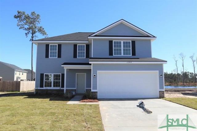 1597 Longleaf Court, Hinesville, GA 31313 (MLS #200830) :: The Randy Bocook Real Estate Team