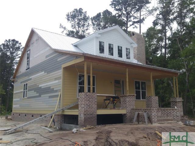 186 Island Drive, Midway, GA 31320 (MLS #201196) :: McIntosh Realty Team