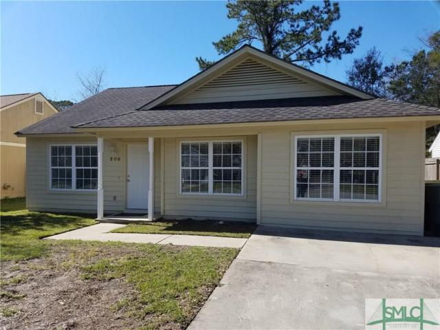 206 Quail Hollow Drive, Savannah, GA 31419 (MLS #203487) :: The Randy Bocook Real Estate Team
