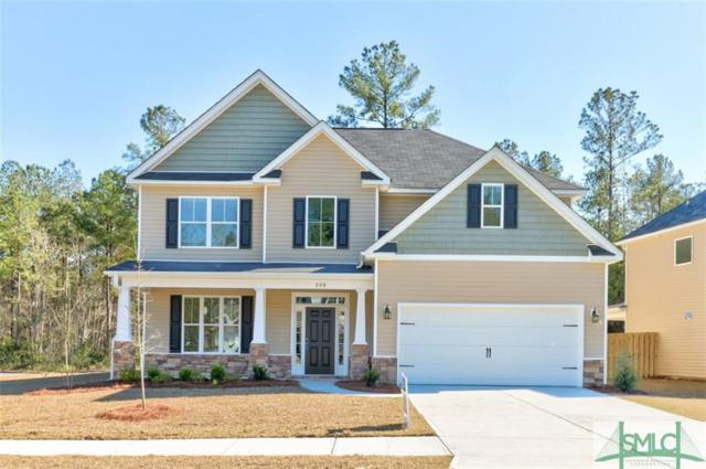 336 Coconut Drive, Bloomingdale, GA 31302 (MLS #208074) :: The Arlow Real Estate Group
