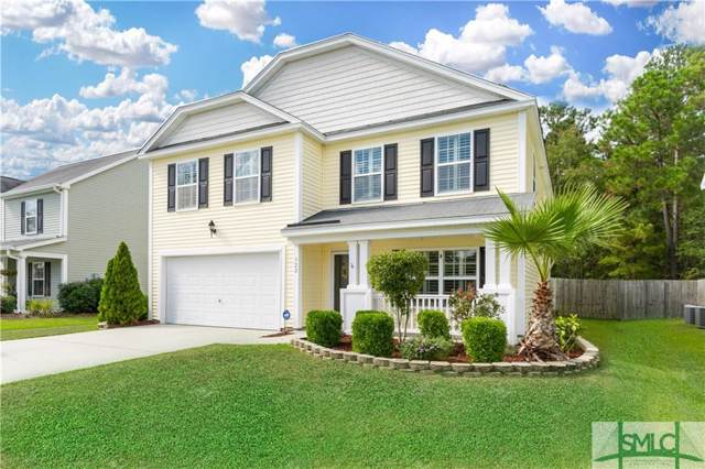 322 Winchester Drive, Pooler, GA 31322 (MLS #215061) :: RE/MAX All American Realty