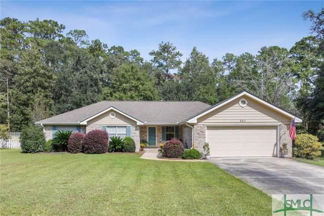 863 Flora Ellen Street, Hinesville, GA 31313 (MLS #215077) :: The Arlow Real Estate Group