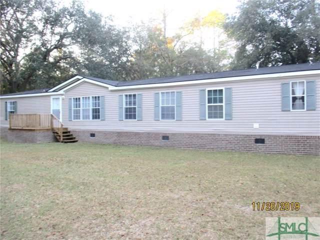 460 Dena Circle NE, Ludowici, GA 31316 (MLS #216000) :: The Arlow Real Estate Group
