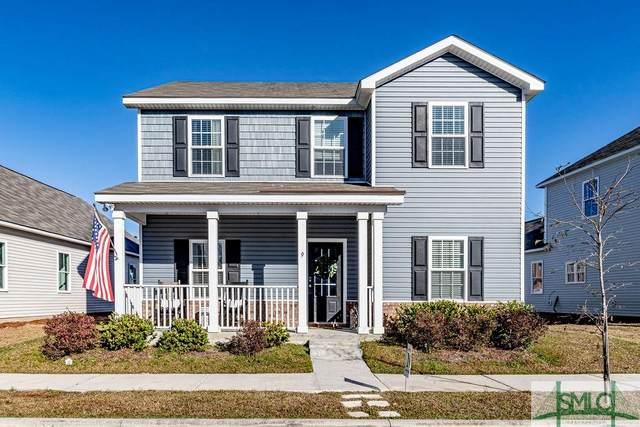 9 Dogwood Circle, Port Wentworth, GA 31407 (MLS #216047) :: Heather Murphy Real Estate Group