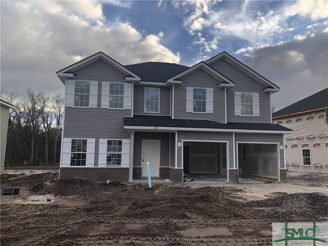 147 Alcott Circle, Hinesville, GA 31313 (MLS #216755) :: The Randy Bocook Real Estate Team
