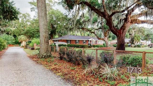 1713 Wilmington Island Road, Savannah, GA 31410 (MLS #227226) :: The Arlow Real Estate Group