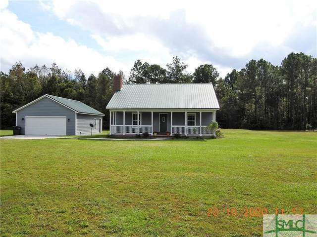1672 Marcus Nobles Road NE, Glennville, GA 30427 (MLS #237768) :: McIntosh Realty Team
