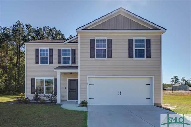 225 Bellflower Circle, Guyton, GA 31312 (MLS #237828) :: Coastal Homes of Georgia, LLC