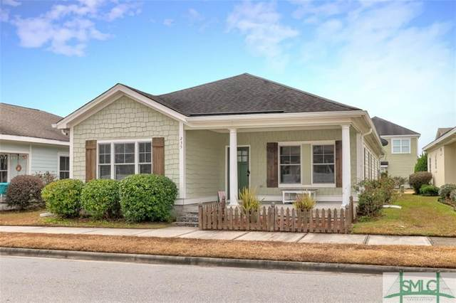 235 Dogwood Circle, Port Wentworth, GA 31407 (MLS #239602) :: Keller Williams Coastal Area Partners