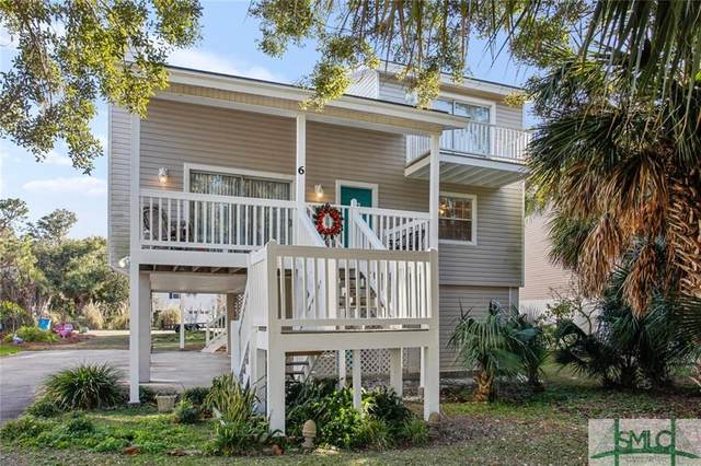 6 Shipwatch Circle, Tybee Island, GA 31328 (MLS #240244) :: The Arlow Real Estate Group