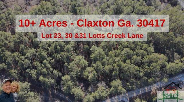 Lot 29, 30, & 31 Lotts Creek Lane, Claxton, GA 30417 (MLS #240247) :: Liza DiMarco