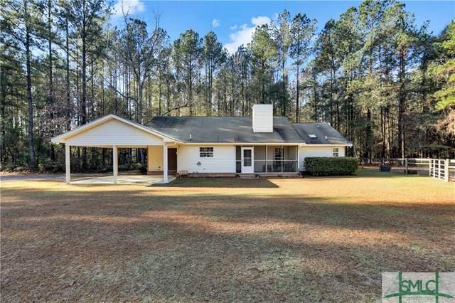 485 Mp Martin Road, Brooklet, GA 30415 (MLS #240276) :: Coastal Savannah Homes