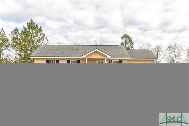 113 Rebel Estates Drive, Springfield, GA 31329 (MLS #240642) :: Keller Williams Coastal Area Partners