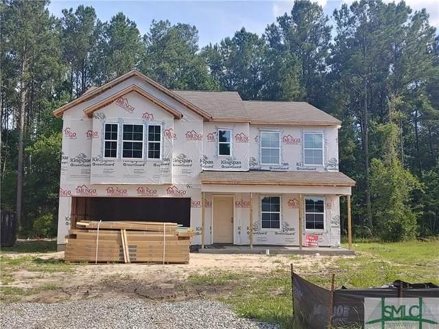 24 Easy Street, Guyton, GA 31312 (MLS #245884) :: Keller Williams Coastal Area Partners