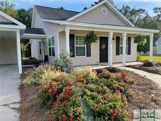 200 Lindsey Drive, Richmond Hill, GA 31324 (MLS #246211) :: Liza DiMarco
