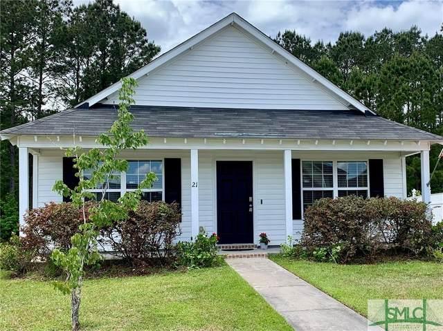 21 Rosa Lane, Savannah, GA 31419 (MLS #247781) :: Coastal Savannah Homes