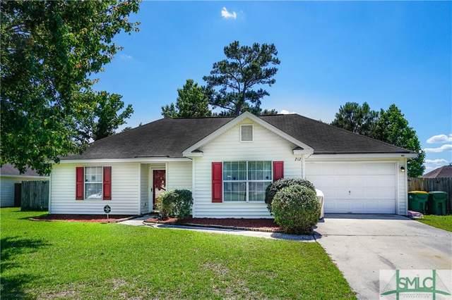 212 Longleaf Circle, Pooler, GA 31322 (MLS #247976) :: Keller Williams Realty-CAP