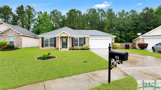 194 Aquinnah Drive, Pooler, GA 31322 (MLS #248273) :: The Hilliard Group