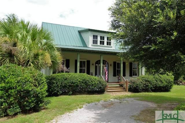 16 Marsh Oaks Lane, Seabrook, SC 29940 (MLS #249197) :: Coldwell Banker Access Realty