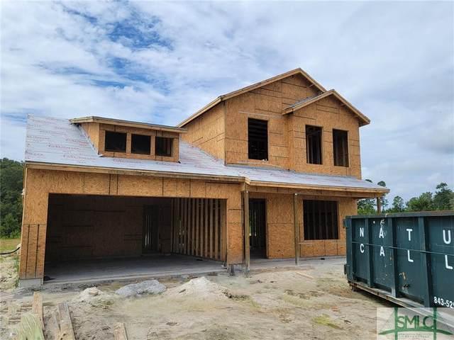 153 Tondee Way, Midway, GA 31320 (MLS #254341) :: The Allen Real Estate Group