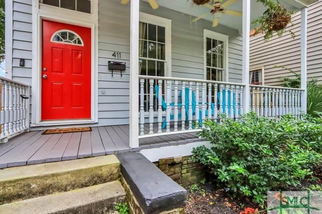 411 Anderson Street, Savannah, GA 31401 (MLS #257910) :: Keller Williams Coastal Area Partners
