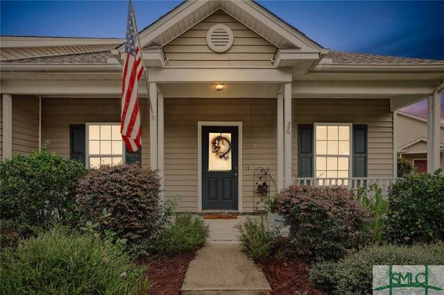 26 Quartz Way, Savannah, GA 31419 (MLS #259374) :: Keller Williams Realty Coastal Area Partners