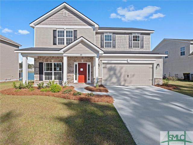 22 Teal Lake Drive, Savannah, GA 31419 (MLS #185124) :: Keller Williams Realty-CAP