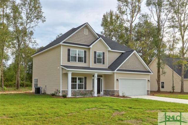 606 Bledsoe Drive, Guyton, GA 31312 (MLS #193686) :: Coastal Savannah Homes