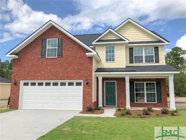 733 Waterlilly Court, Hinesville, GA 31313 (MLS #195091) :: Coastal Savannah Homes