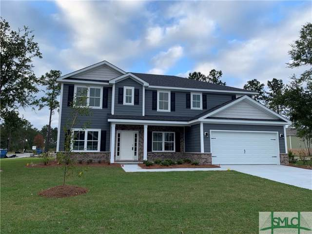 420 Timberland Circle, Richmond Hill, GA 31324 (MLS #208150) :: Liza DiMarco