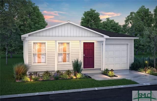 91 Morgan Court #46, Ludowici, GA 31316 (MLS #208479) :: The Arlow Real Estate Group