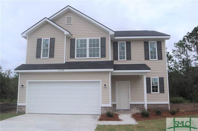 1220 Evergreen Trail, Hinesville, GA 31313 (MLS #208880) :: The Randy Bocook Real Estate Team