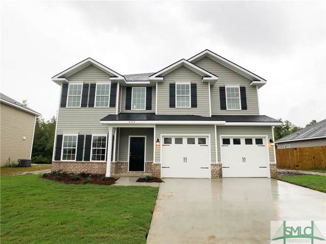 437 Meloney Drive, Hinesville, GA 31313 (MLS #210859) :: Teresa Cowart Team