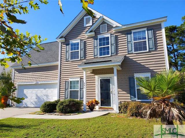 206 Grasslands Drive, Pooler, GA 31322 (MLS #214529) :: The Arlow Real Estate Group