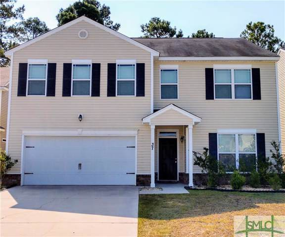 37 Crystal Lake Drive, Savannah, GA 31407 (MLS #214584) :: Keller Williams Coastal Area Partners