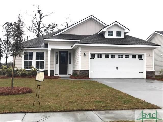 265 Mcqueen Drive, Pooler, GA 31322 (MLS #215694) :: Heather Murphy Real Estate Group