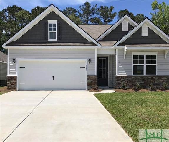 106 Oldwood Drive, Pooler, GA 31322 (MLS #216971) :: Partin Real Estate Team at Luxe Real Estate Services