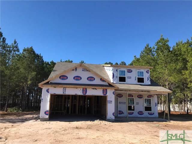 36 Saddlebrush Road, Ellabell, GA 31308 (MLS #217500) :: Teresa Cowart Team