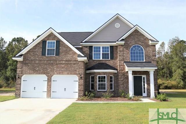 843 Forest Street, Hinesville, GA 31313 (MLS #189054) :: The Randy Bocook Real Estate Team